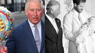 Książę Karol, Harry, Archie
