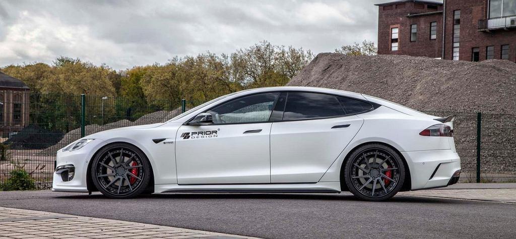 Tesla Model S Prior Design