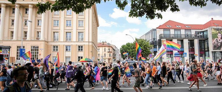 Marsz Równości w Rzeszowie został obrzucony jajkami