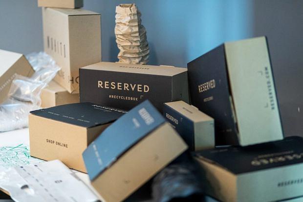 Papierowe opakowania Reserved