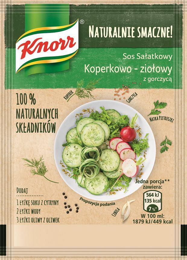 Sos sałatkowy Koperkowo-ziołowy Naturalnie Smaczne Knorr