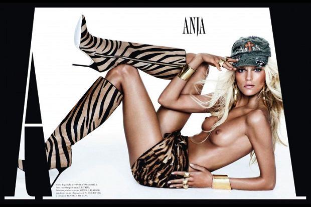 Anja Rubik, biust, piersi, topless, cycki
