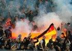 Liga Mistrzów. Rosyjscy kibole spalili niemiecką flagę