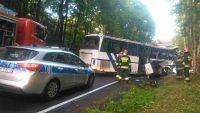 Do wypadku doszło na drodze krajowej nr 16