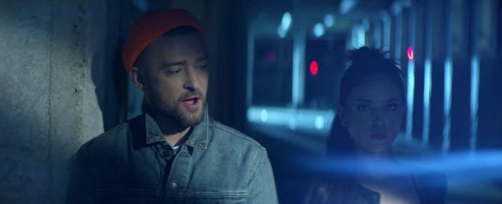 Justin Timberlake w teledysku do utworu 'Supplies' / screen z YouTube
