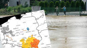 IMGW aktualizuje ostrzeżenia hydrologiczne.