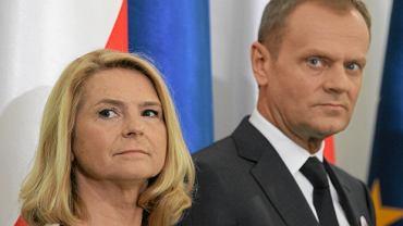 Małgorzata Tusk i Donald Tusk