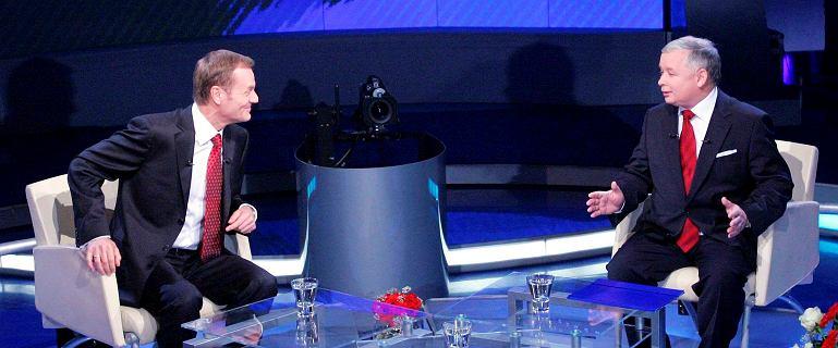 Kaczyński postawił warunki debaty. Tusk: Przepraszam, Jarku. Datę i miejsce poproszę