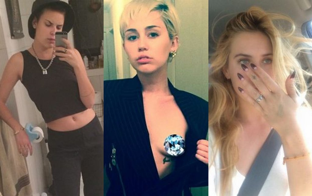 Scout i Tallulah Willis, Miley Cyrus