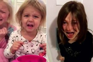 """""""Zjadłem twoje cukierki"""" - rodzice żartują z dzieci. Jedne maluchy grożą więzieniem, a inne... [WIDEO]"""