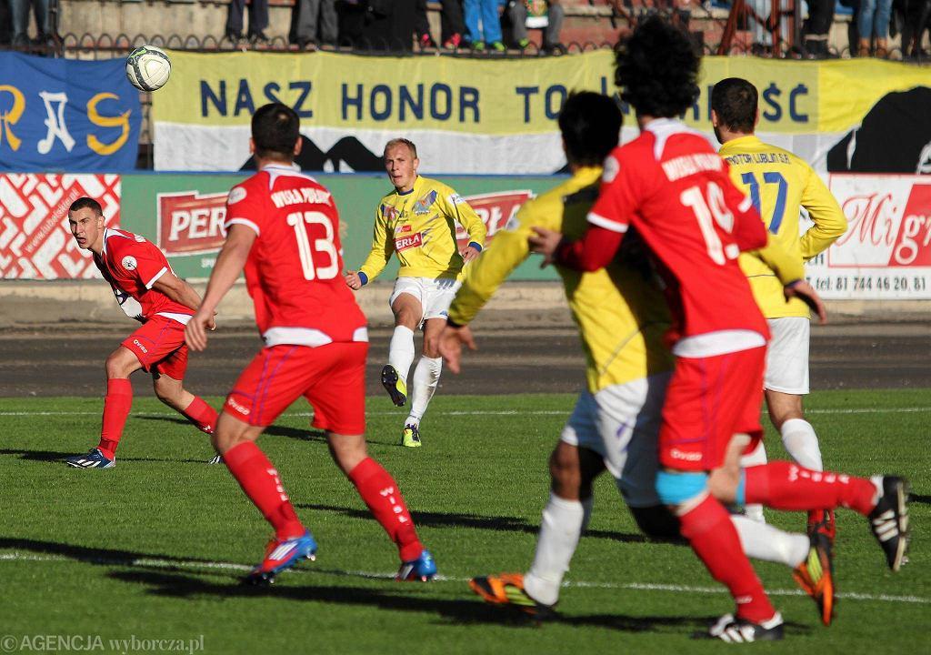 II ligowe derby Lubelszczyzny. Motor - Wisła 3:3