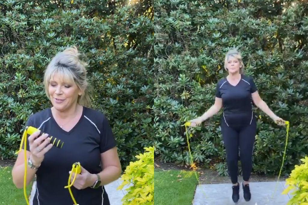 Ruth Langsford udziela treningowych wskazówek