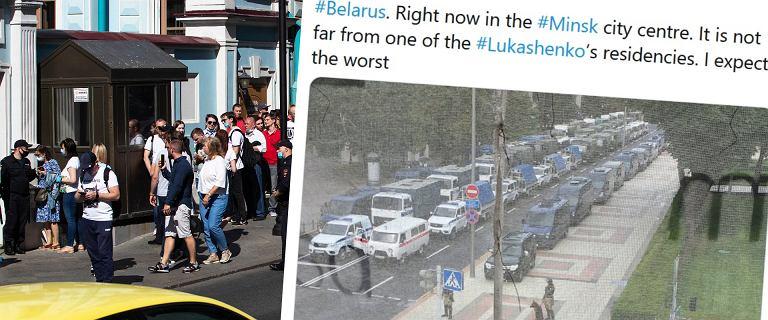 """Wybory na Białorusi. Dziennikarz: """"De facto, wprowadzono w Mińsku stan wyjątkowy"""""""