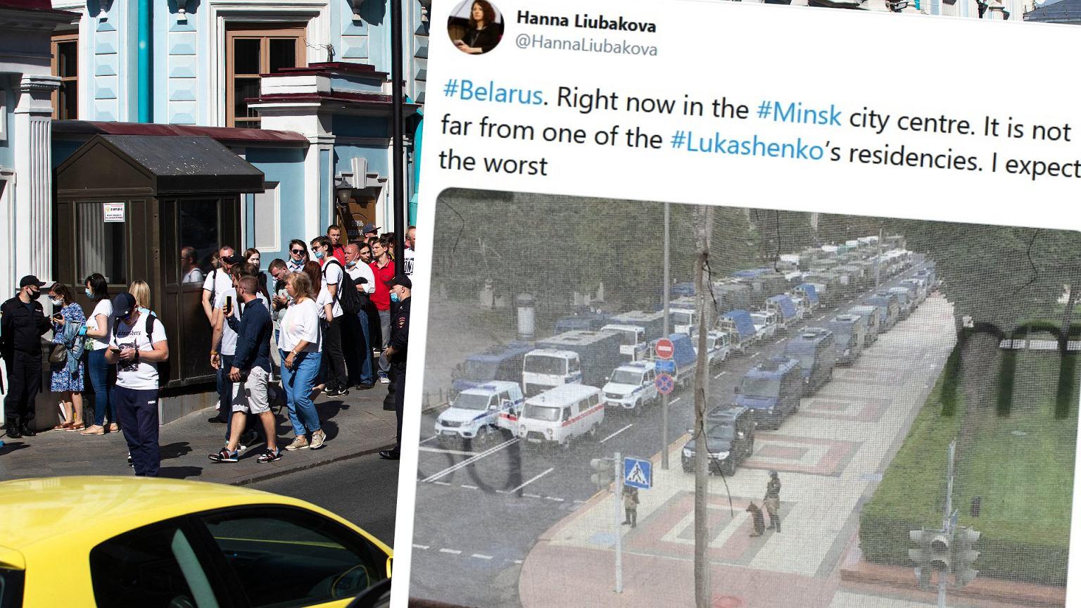 Wybory na Białorusi. Dziennikarz: