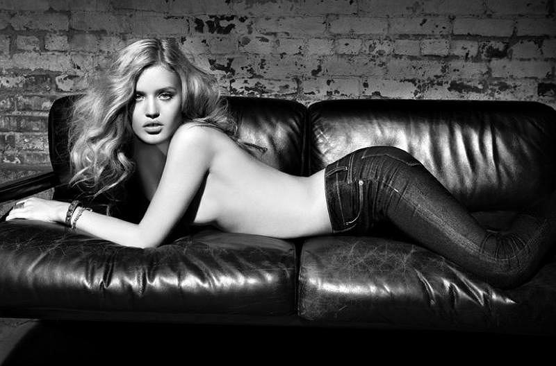 Georgia May Jagger w kampanii Hudson Jeans