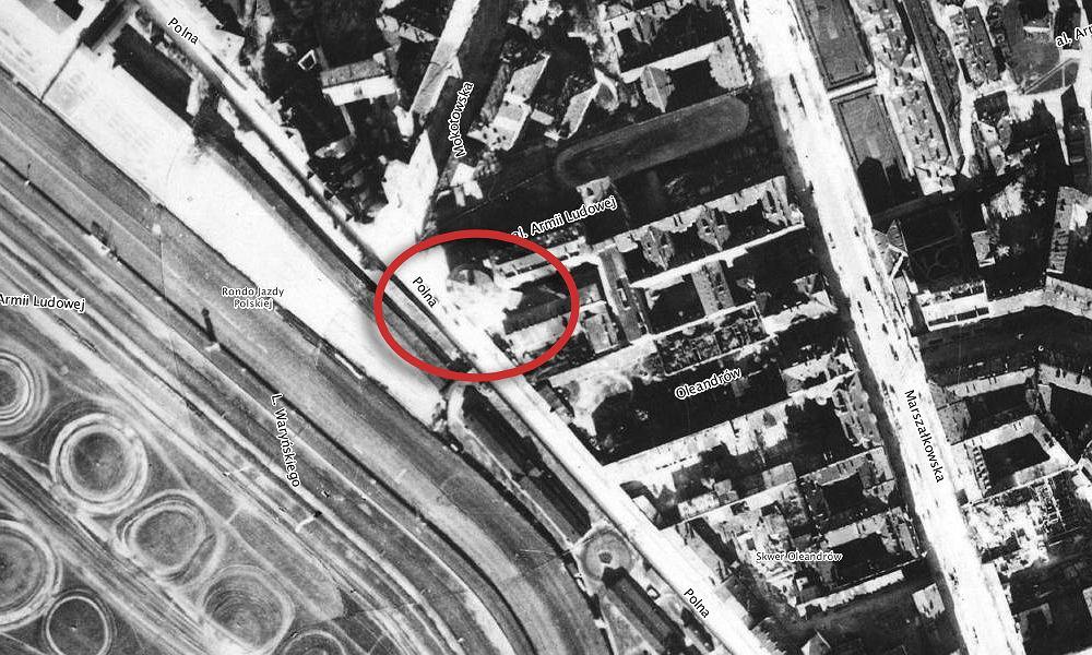 Polna 30 w 1935 roku