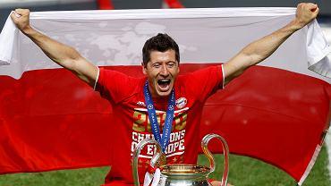 Robert Lewandowski po zwycięskim finale Ligi Mistrzów