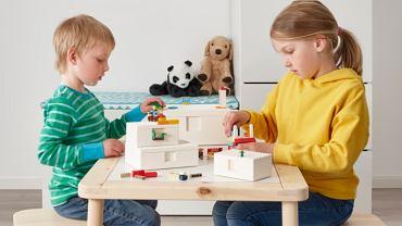 Kolekcja BYGGLEK, współpraca firm IKEA i LEGO