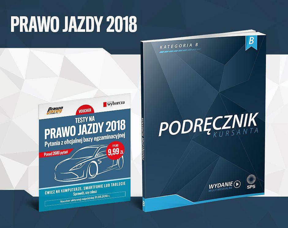 Prawo jazdy 2018 z 'Wyborczą'.