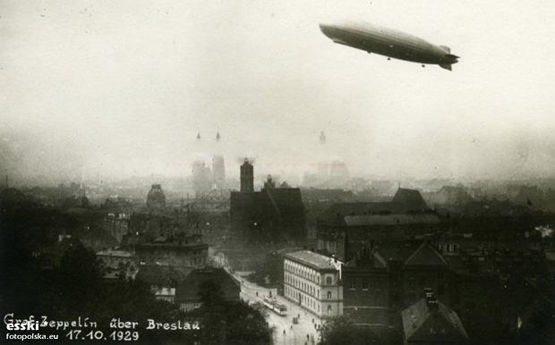 Zdjęcie numer 7 w galerii - Sterowce nad przedwojennym Wrocławiem. Te archiwalne zdjęcia robią wrażenie [GALERIA]