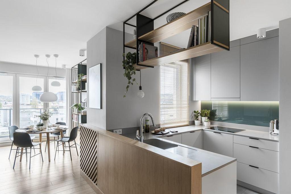 Przytulne mieszkanie w klimacie urban jungle