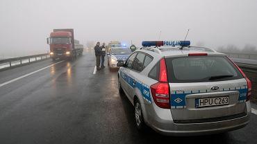 Wypadek na autostradzie A2 (zdjęcie ilustracyjne)