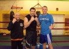 Poznaniak w ringu z Andrzejem Gołotą przed walką z Przemysławem Saletą