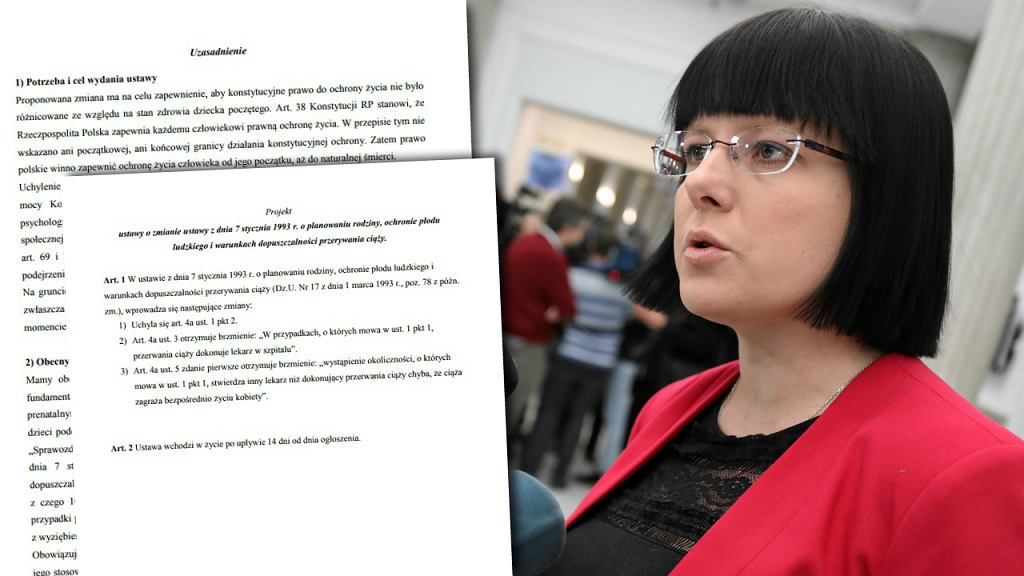Kaja Godek z komitetu Zatrzymaj Aborcję