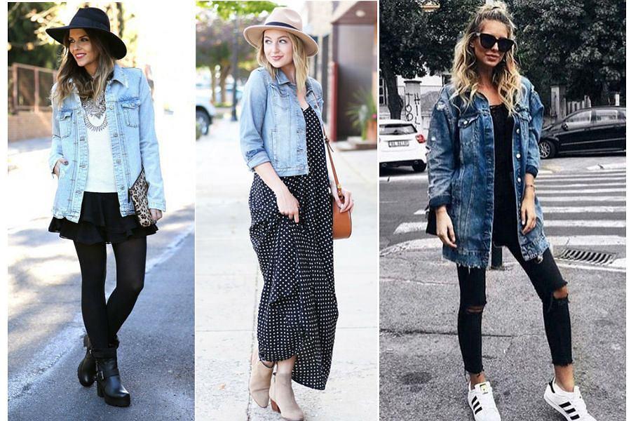 Katana jeansowa stylizacje