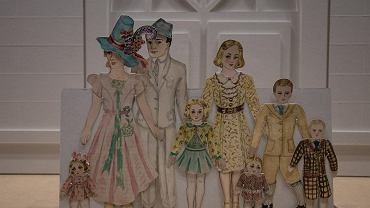 Wystawa papierowych lalek stworzonych podczas okupacji pt. 'Hello Helka. Nowelka na papier i wojnę' w Muzeum Powstania Warszawskiego