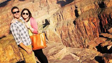 Brittany Maynard z mężem nad Wielkim Kanionem w Arizonie