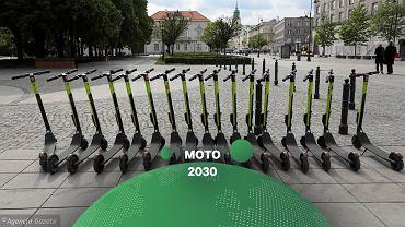 Hulajnogi elektryczne środkiem transportu przyszłości?