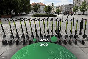 Hulajnogi jako środek transportu przyszłości? Będą coraz popularniejsze, ale aut nie wyprą [MOTO 2030]