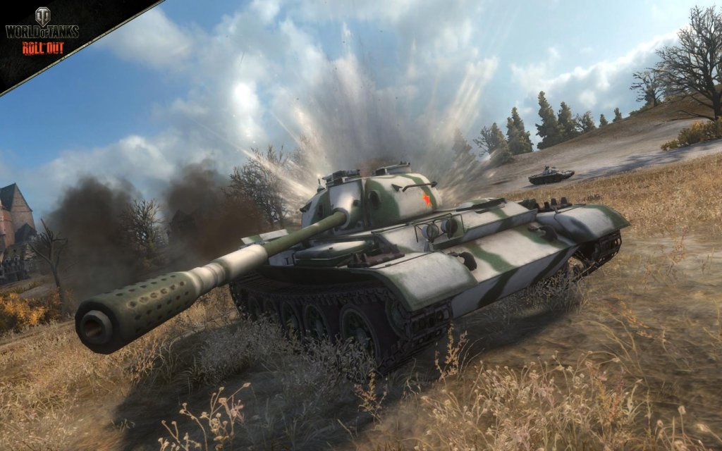 World of Tanks - kadr z gry