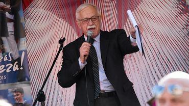 Jan Pietrzak na święcie uchwalenia Konstytucji 3 maja w 2015