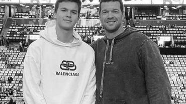 Michael Ballack z synem