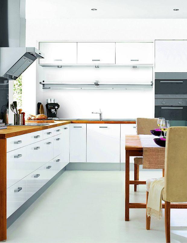 Kolor ścian W Białej Kuchni Budowa Projektowanie I