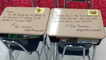 Ta nauczycielka wie, jak motywować uczniów!