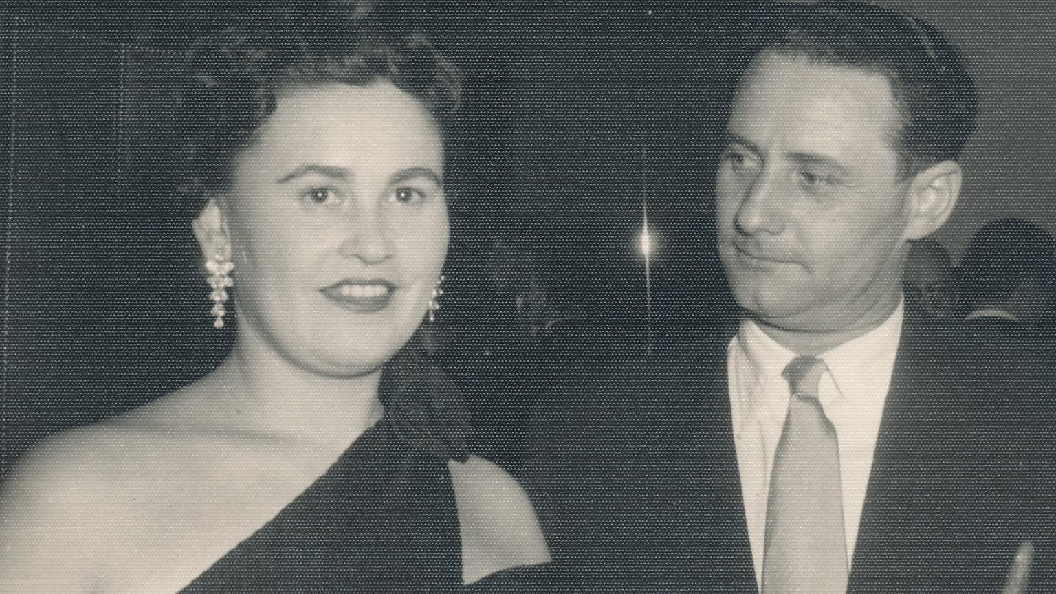 Gita i Lale Sokolov po wojnie jako szczęśliwe małżeństwo