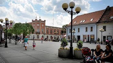 Rynek w Mikołowie