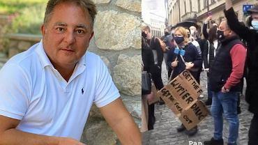 Robert Makłowicz strajkuje