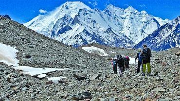 Zdjęcie z wyprawy poszukiwawczej Jacka Berbeki na Broad Peak