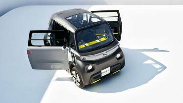 Opel Rocks-e - elektryczny mikrosamochód
