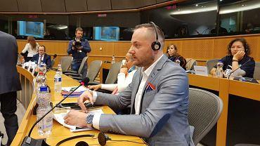 Piotr Owczarski w Parlamencie Europejskim