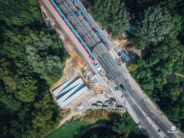 Zdjęcie numer 5 w galerii - Modernizacja mostu im. Piłsudskiego za 123 mln zł. Tak wygląda z drona