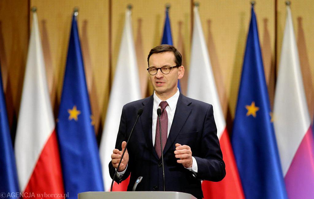 Premier Mateusz Morawiecki z wizytą w Podlaskiem