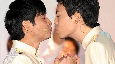 Symboliczny ślub pary homoseksualistów w Korei Południowej