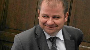Jacek Cieślikowski, warszawski radny, zdj. z 2013 roku