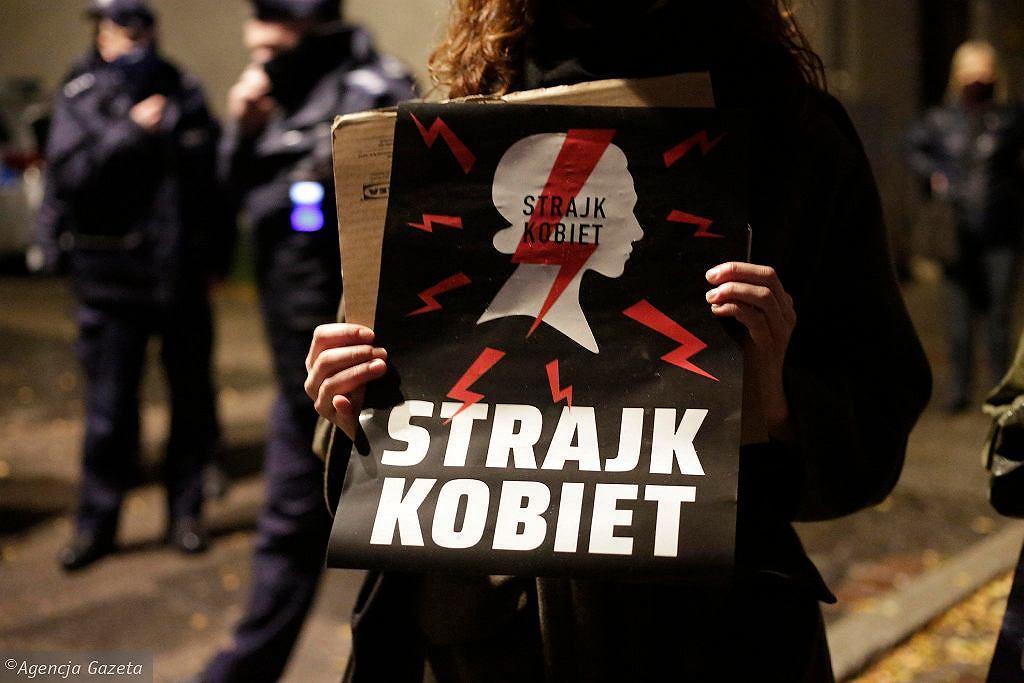 Zdjęcie ilustracyjne/Protest przeciwko wyrokowi TK