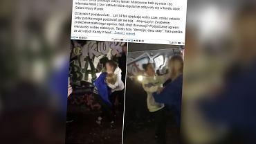 Ustawka 14-latek w Jeleniej Górze. Dwie dziewczyny walczyły na gołe pięści